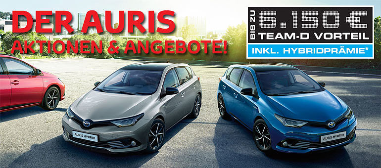 Toyota Auris Sondermodell Turbo kracher Angebot